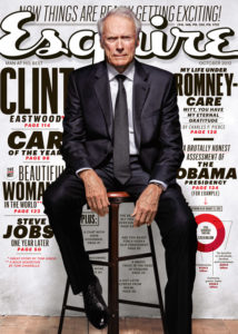 Clint Eastwood on the cover of Esquire Magazine